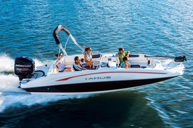 Tahoe 2150 Deck Boat Available through Springfield Tracker Boat Center Contact Spencer Helms or Richard Mosher  Tracker Boating Center Springfield, MO  Office 417-891-5281