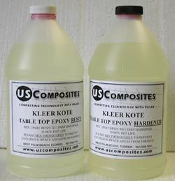 The EPOXY Kleer Koat that I will need for the mosaic counter tops I'm going to do for my sewing area