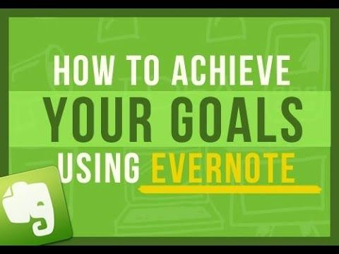 Evernote Tips: How To Get More Done Using Evernote and Have Peace of Mind Every Single Day Part 1/4 - YouTube