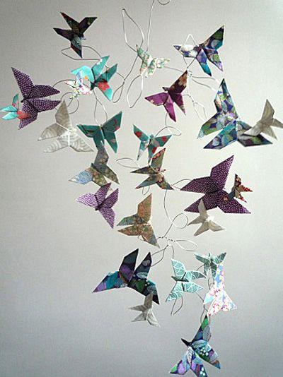 Pour le plan de table (grues à la place des papillons)