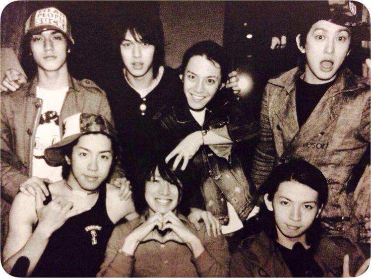 KANJANI EIGHT Subaru Shibutani, You Yokoyama, Shingo Murakami, Ryo Nishikido, Shota Yasuda, Ryuhei Maruyama and Tadayoshi Okura