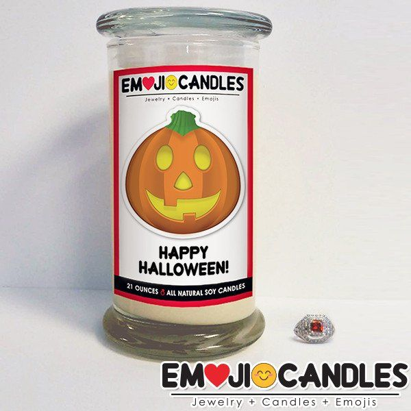 Happy Halloween! - Emoji Candles. Add a little fun & personal touch to your gift.. with an Emoji Candle! Yes, the Emojis everyone loves now has a candle that will make everyone smile!
