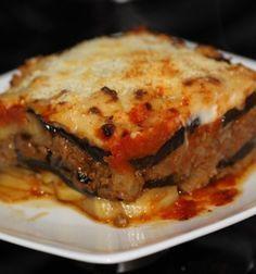 lasagna de berenjenas*