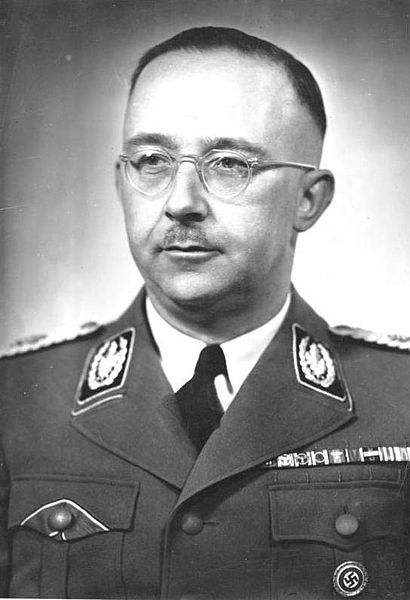 Heinrich Himmler overseer of the concentration camps, extermination camps, and Einsatzgruppen (literally: task forces, often used as death squads to murder Jews, he coordinated the killing of some six million Jews, and four million Poles, or other groups whom the Nazis deemed unworthy to live. Shortly before the end of the war, he offered to surrender both Germany and himself to the Western Allies if he were spared prosecution. After being arrested by British forces in1945. He committed suicide.: Nazi Parties, Nazi Germany, Commitment Suicide, Concentration Camps, War Ii, Military Uniforms, Bundesarchiv Bild, Heinrich Himmlerjpg, Military Command