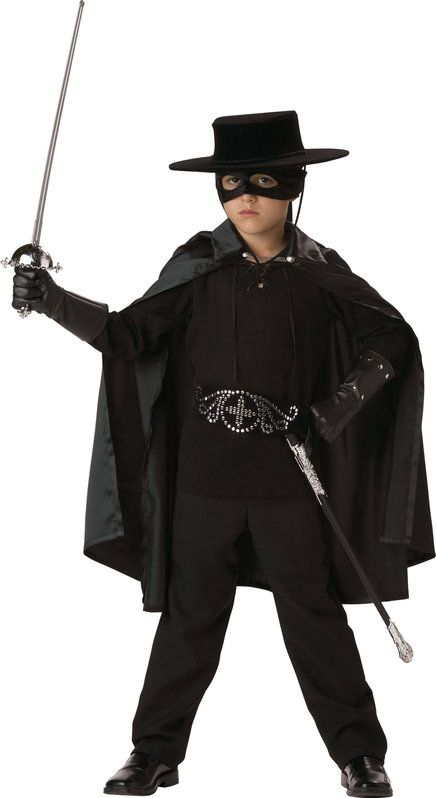 Boys Zorro Kids Costume