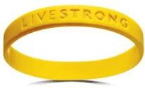 LiveStrong band. always wear it.