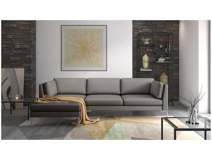 Stylefy Siri Ecksofa Braun Kunstleder In 2020 Home Home Decor