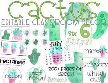 This is over 150 pages of beautiful tropical classroom decor, labels and organization tools! They are ready to print AS WELL AS editable versions! What is included in your purchase (PLEASE READ PRIOR TO PURCHASE):- Days of the week- half page Month labels- half page day of the week labels- small day of the week labels- calendar cards July 2017-June 2018- calendar words    - today is    - yesterday was    - tomorrow is    - days of school    - todays weather- Birthday month sheets- Birthday…