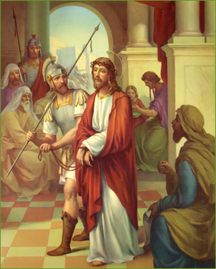 First Station Jesus is condemned to death  Catholic Online