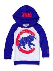 pink victorias secret cubs jacket. super cute