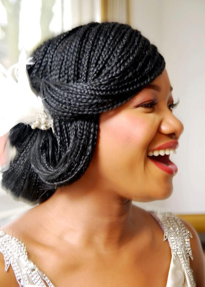 Outstanding 1000 Images About Wedding Hairstyles Locs Braids Amp Twists On Short Hairstyles For Black Women Fulllsitofus