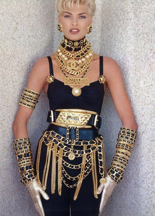 Linda Evangelista in Chanel - really do we need words for this