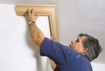 Dress up your room with crown molding. We show you how.   Photo:    thisoldhouse.com