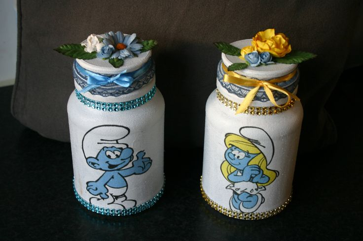 my jars and bottles  made for a costumer