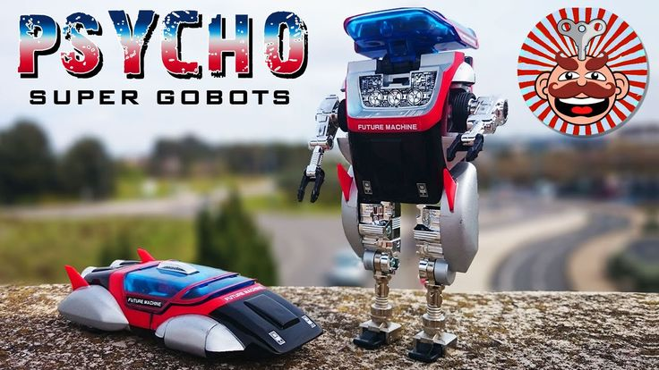 Super Gobots Psycho Unboxing & Review - Monsieur Toys
