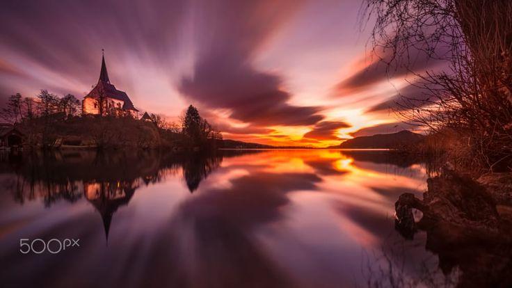 Sunrise- Maria Wörth (Austria) by Fotografie Trippolt on 500px