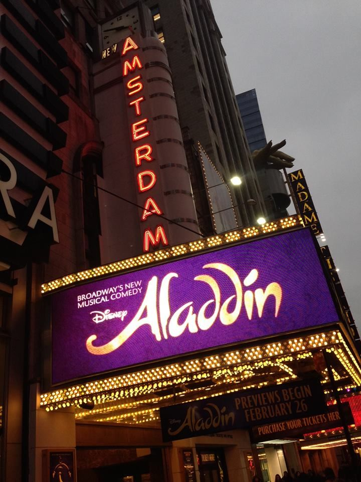 Meet the Director of Aladdin the Musical on Broadway. A new Disney story every half hour on the Disney Bloggers Collection http://disneybloggers.blogspot.com