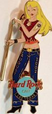 Hard Rock Cafe LAS VEGAS AUGUST 2002 Sexy POOL Girl PIN #1 Hot Billiards Blond!
