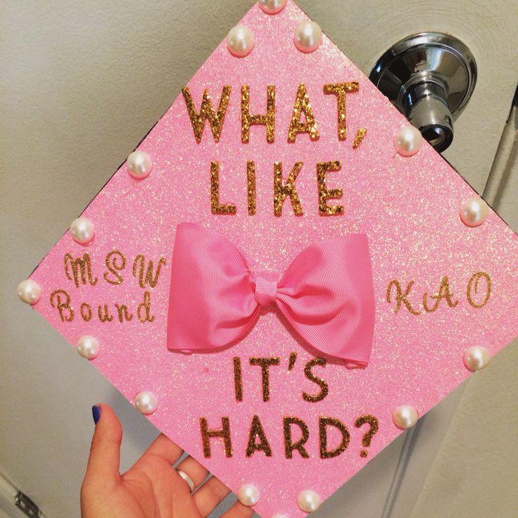 Elle Woods graduation cap