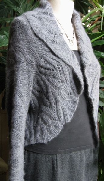 Eve's Ribs from sundayknits.com — What a beautiful shrug/jacket, and the knitting pattern only costs $8!