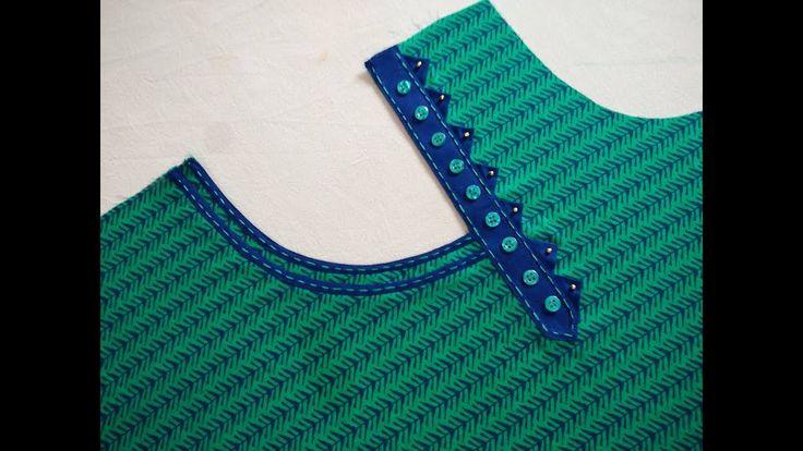 Latest And Stylish Neck Design Cutting And Stitching