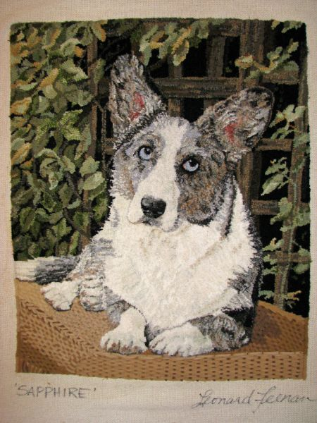 86 Best Rug Hooking Dogs Images On Pinterest Wool Rug