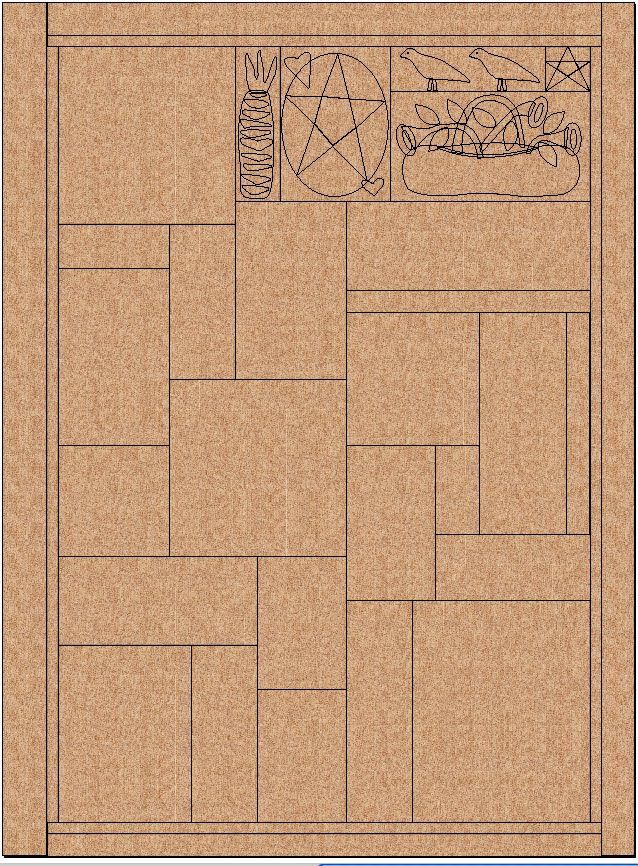 This is Cabin in the Pines, the February Quilt of the Quarter that will ship this month.  If you belong to the Quilt of the Quarter Club, y...