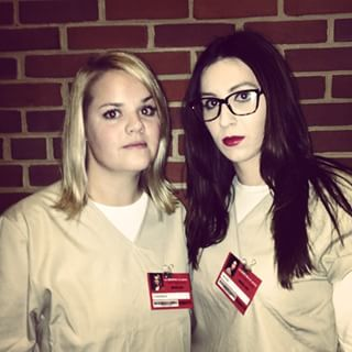 Alex and Piper | 41 Two-Person Costumes That Will Up Your Halloween Game