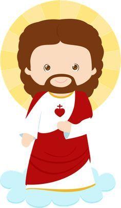 Resultado de imagem para jesus desenho infantil colorido