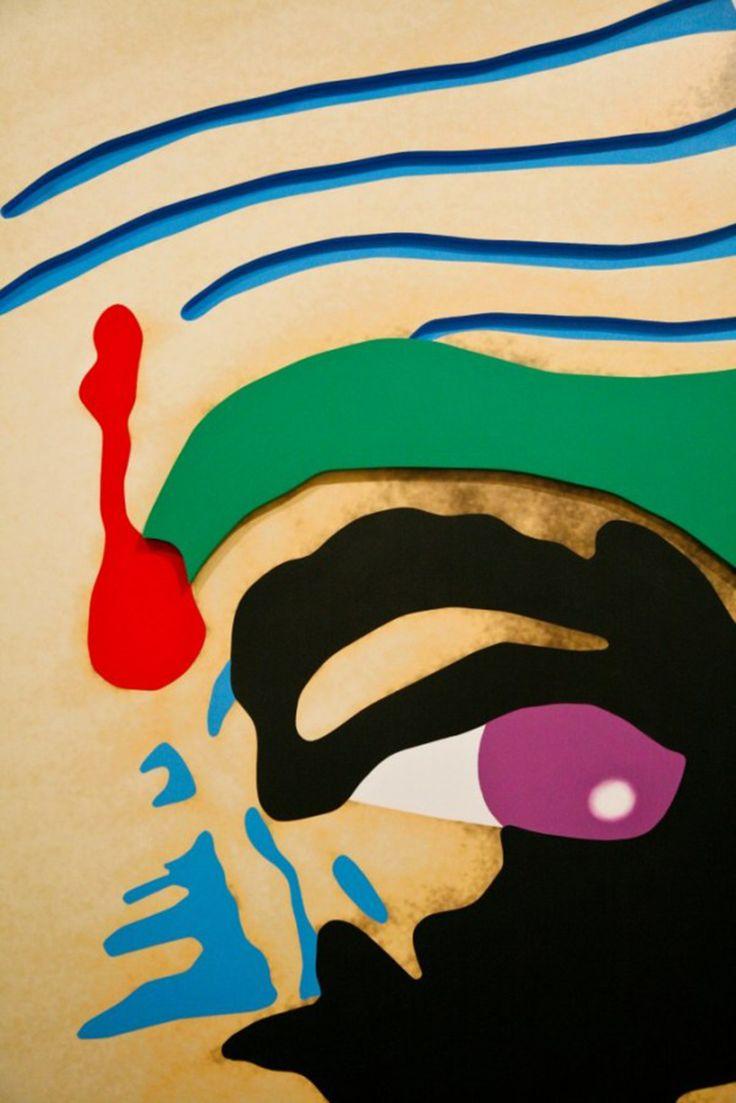 PATCH FLOW FACE | JOHN BALDESSARI — Patternity