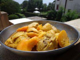 Ciao amici del gusto agro dolce. Oggi vi presento Khoresh Holu, Pollo alle Pesche   Khoresh Holu e' un piatto tipico della mia cu...