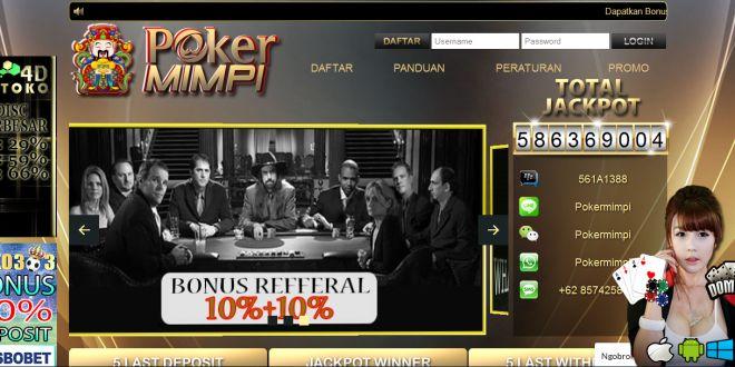 POKERMIMPI, Daftar Poker Online Indonesia