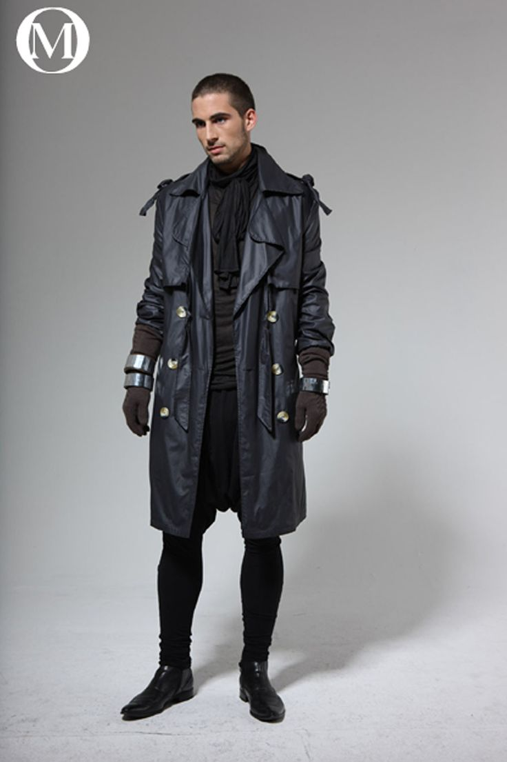 Future of men's fashion // dystopian | Cyberpunk ...