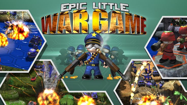 Epic Little War Game v1.02  (Mod Money)   Epic Little War Game v1.02  (Mod Money)Requirements:4.1Overview:Its time to mobilize because the Little War Game is back and this time it is EPIC!  The latest in the 3.5 million selling series of strategic war games offers an immense array of challenges that will push your battle tactics to the limit and beyond. With a huge single player mode online one-on-one or six player skirmishes and gazillions of maps to dominate (not to mention a random map…