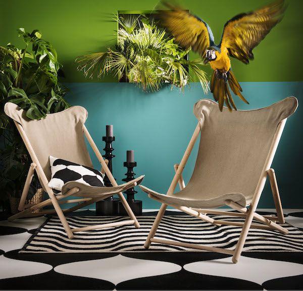 Relaxte stoel TILLFALLE IKEA