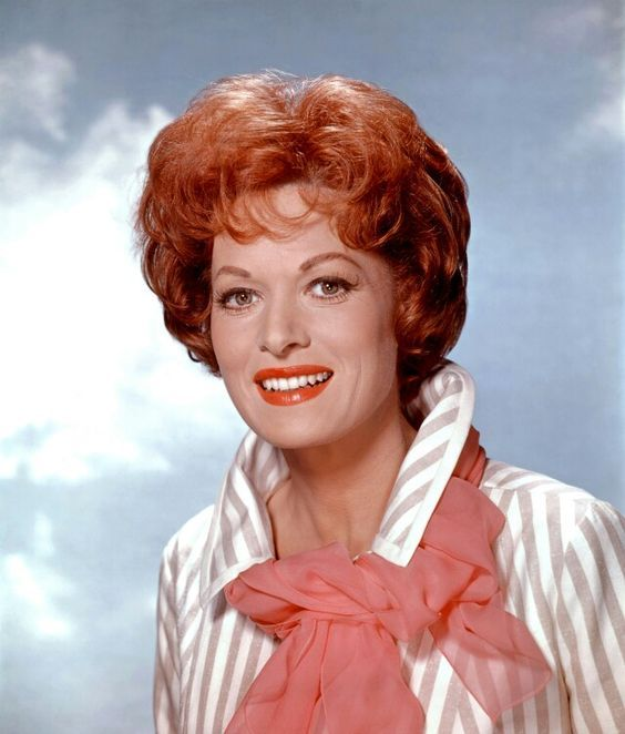Maureen O'Hara in Red, White and Blue.