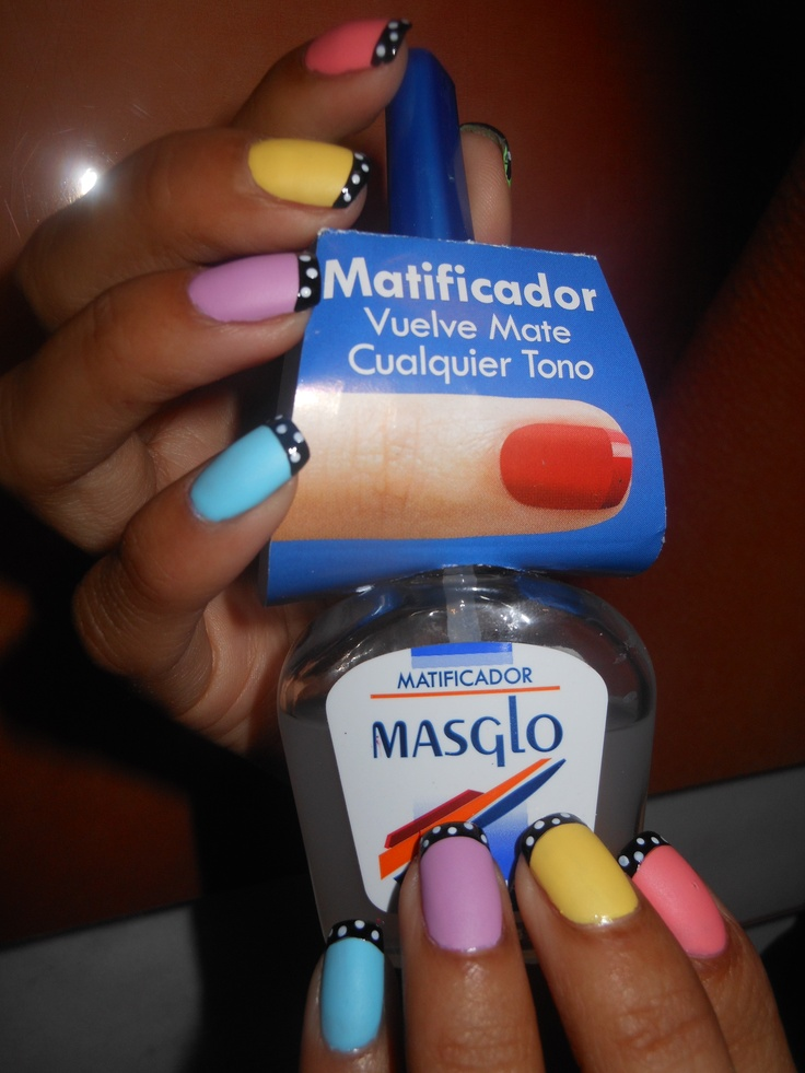 Matificador Masglo, con el puedes volver mate cualquier tono! Masglo Nails