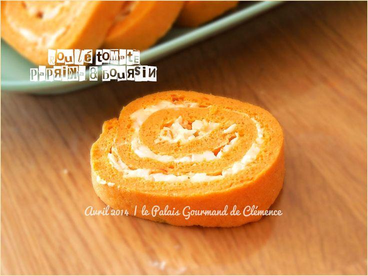 Roulé tomate, paprika & Boursin®