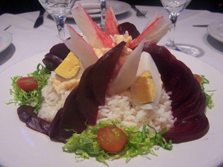 ℒadᎽ ℒiℒiѦℕℕѦ ♔ - Ensalada de kanikama y mousse de palmitos by Torna Undici - Bs.As. Argentina