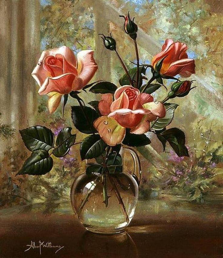 vaso com flores - Albert Williams