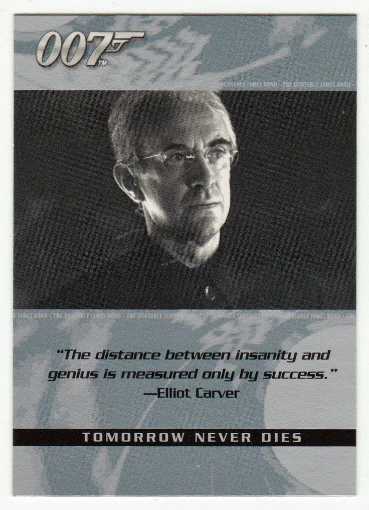 James Bond - The Quotable # 34 - Tomorrow Never Dies