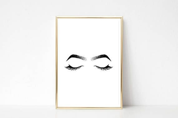 Check out this item in my Etsy shop https://www.etsy.com/listing/540566985/eyes-and-brows-illustration-instant