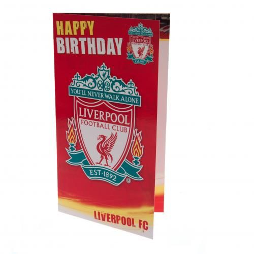Liverpool F.C. Birthday Card