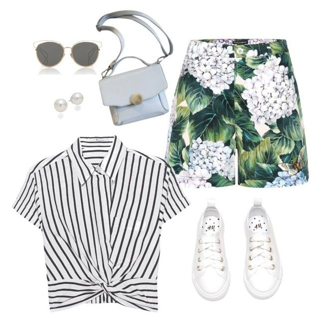 """""""Lovley"""" by sheere on Polyvore featuring moda, Dolce&Gabbana, T By Alexander Wang, Christian Dior i AK Anne Klein"""
