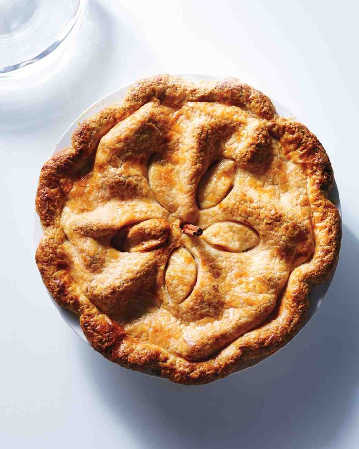 Pear-and-Lemon Pie with Pate Brisee Crust