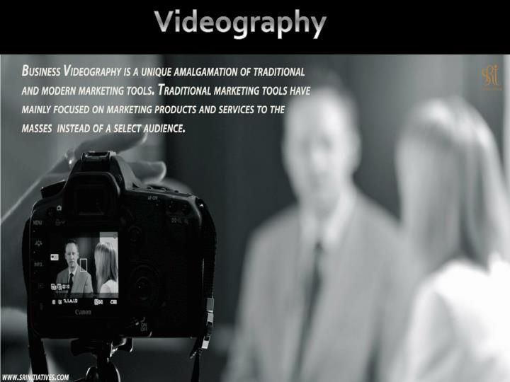 Business Videography is a unique amalgamation of traditional and modern marketing tools. Traditional marketing tools have mainly focused on marketing products and services to the masses instead of a select audience.\n