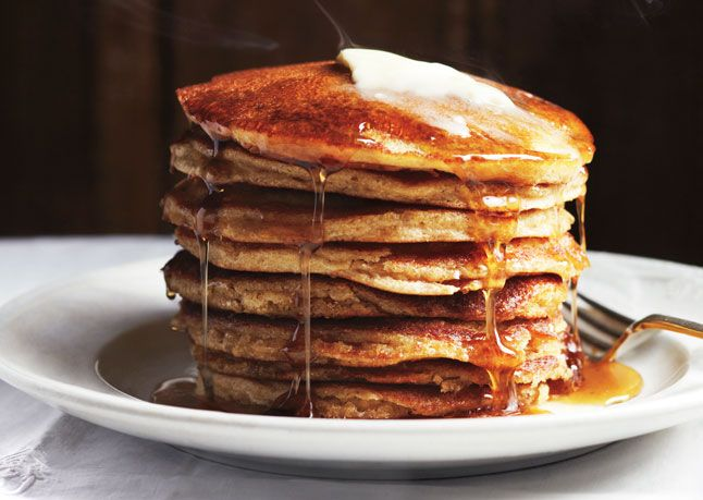 Blackberry Farm Griddle Cakes RECIPE BY Blackberry Farm in Walland, TN Fast-track this recipe by tripling the dry ingredients and storing them in a jar. At breakfast time, scoop out 2 1/4 cups. All the other measurements stay the same.