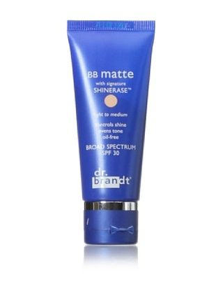 dr. brandt BB Matte with Signature Shinerase, Light to Medium, 1 oz.