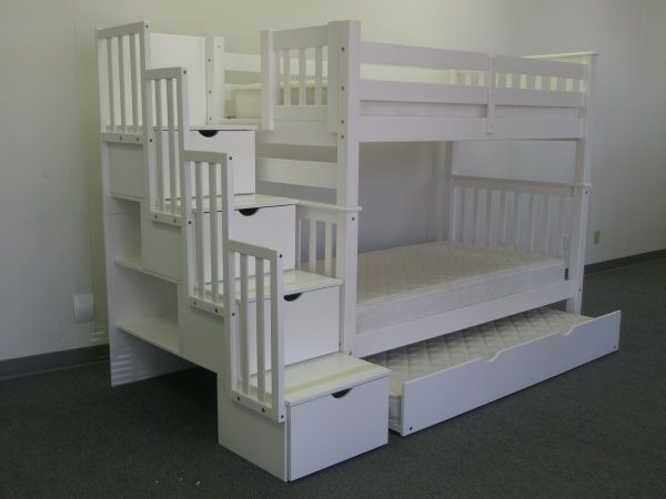 Building Plans For Stairway Bunk Beds Woodworking