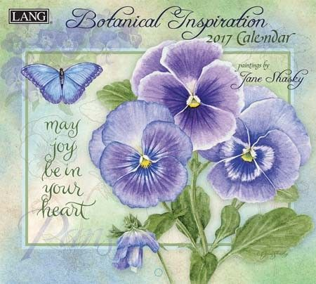 Botanical Inspiration 2017 Wall Calendar , 17991001896 | Lang